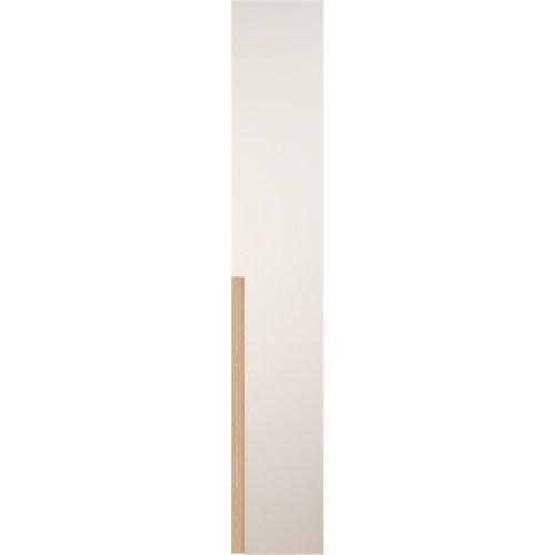 Puerta abatible de armario catar blanco y roble 60x240cm