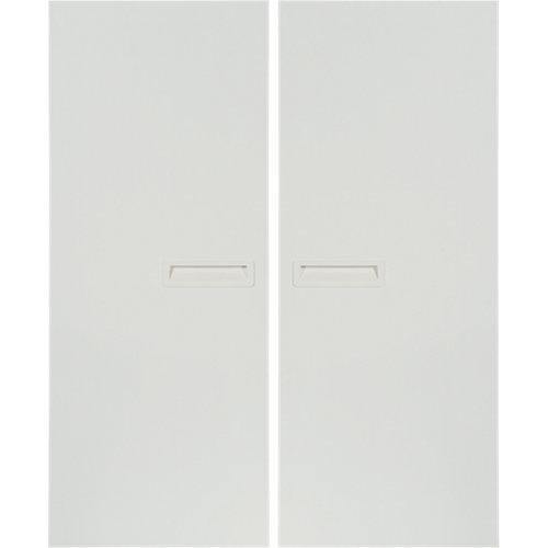 Pack 2 puertas abatibles armario tokyo blanco 30x100x1,6cm