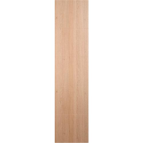 Puerta corredera de armario lucerna roble 60x237x1,9 cm (anchoxaltoxgrosor)