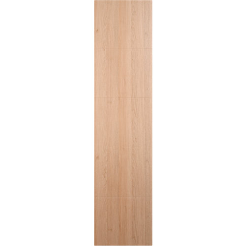 Puerta corredera de armario lucerna roble 80x237x1,9 cm (anchoxaltoxgrosor)
