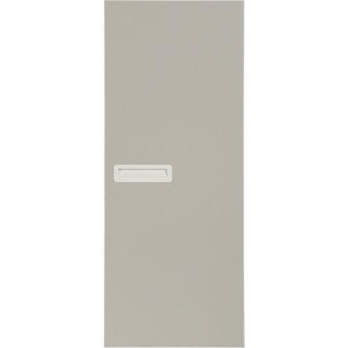 Puerta corredera de armario tokyo gris 80x237x1,6 cm (anchoxaltoxgrosor)