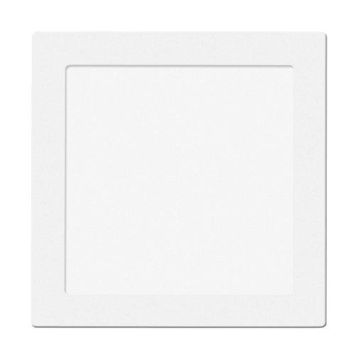 Foco downlight empotrado cuadrado blanco 30w 5700k 3300lm nuva