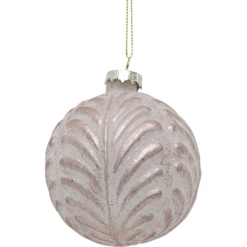 Bola de navidad cristal 8 cm