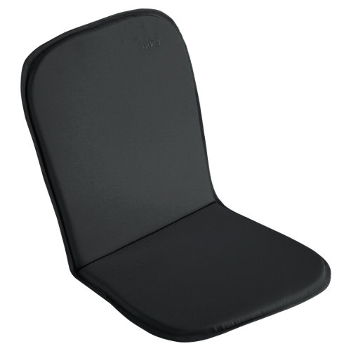 Cojín de silla alta exterior naterial bigrey antracita/gris