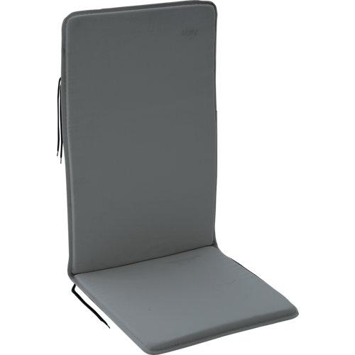 Cojín multiposición de silla naterial bigrey antracita/gris