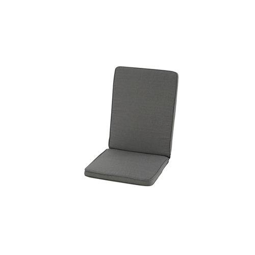Cojín de silla exterior reciclado antracita