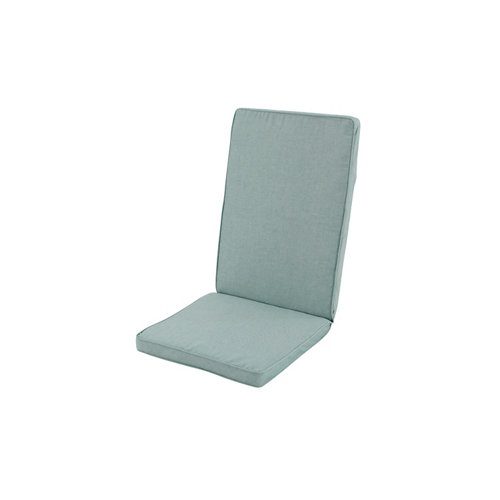 Cojín de silla alta de exterior reciclado verde