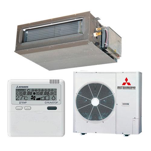 Aire acondicionado conductos mitsubishi fdum100vfs 8600 fg