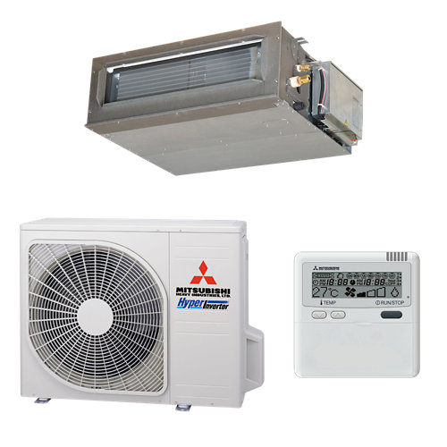 Aire acondicionado conductos mitsubishi fdum60vfnx 5100 fg