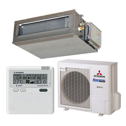 Aire acondicionado conductos mitsubishi fdum71vfnx 6100 fg