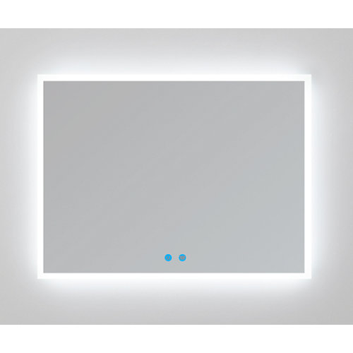 Espejo de baño con luz led armagedon 130 x 80 cm