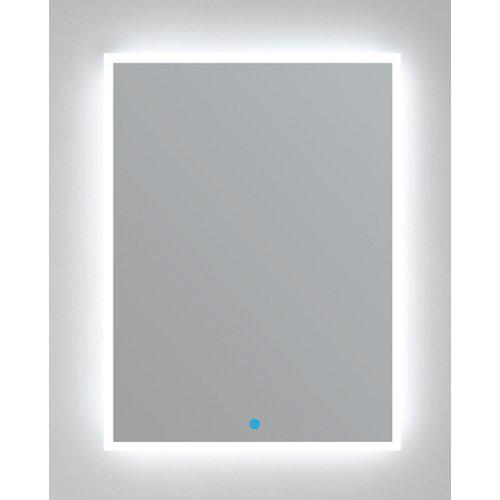 Espejo de baño con luz led cronos 80 x 80 cm