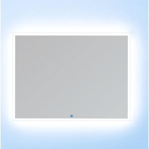 Espejo de baño con luz led cronos 100 x 80 cm