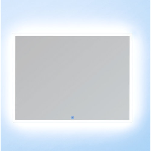 Espejo de baño con luz led cronos 140 x 80 cm