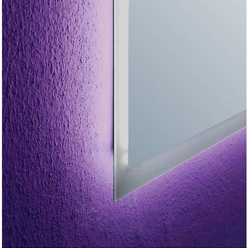 Espejo de baño con luz led nemesis 70 x 80 cm