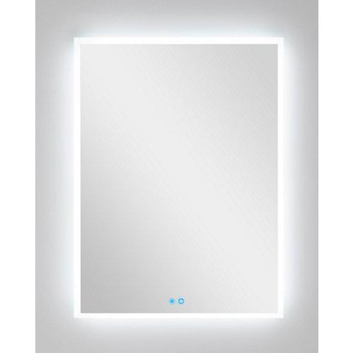 Espejo de baño con luz led armagedon 70 x 80 cm