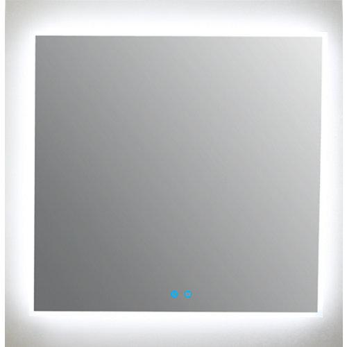 Espejo de baño con luz led armagedon 80 x 80 cm
