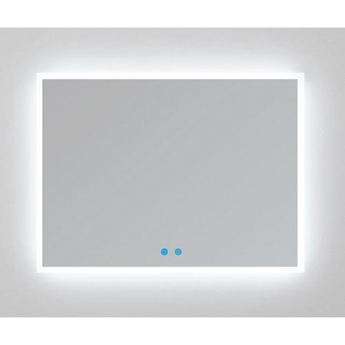 Espejo de baño con luz led armagedon 100 x 80 cm