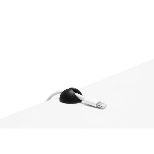 Organizador cables cabledrop mini negro