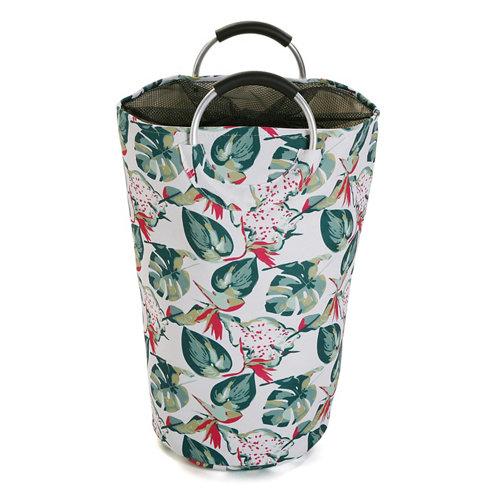 Cesta de ropa flowers 30x58 cm