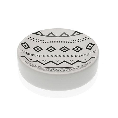 Jabonera mahalo cerámica 11x11x2,7