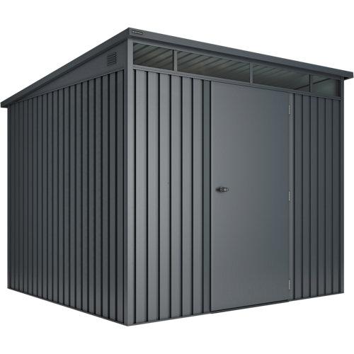 Caseta de metal huntington l (5,5-5,45) m2 de 237x201x226 cm y 5.5 m2