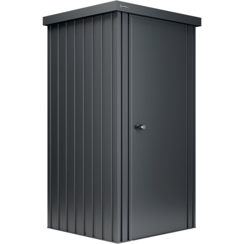 Caseta de metal new port 1 m2 de 93x185x98 cm y 1 m2