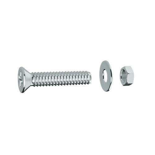 20 tornillo de métrica en acero y 15 mm