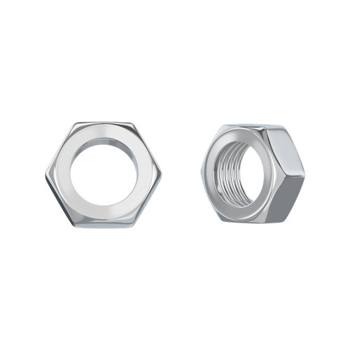 150 tuerca hexagonal de acero cincado