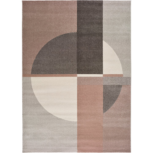 Alfombra de interior multicolor polipropileno berna 160 x 230cm