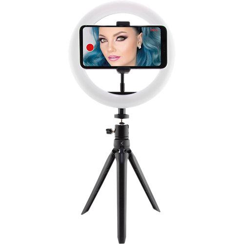 Aro selfie tripode con luz 10w