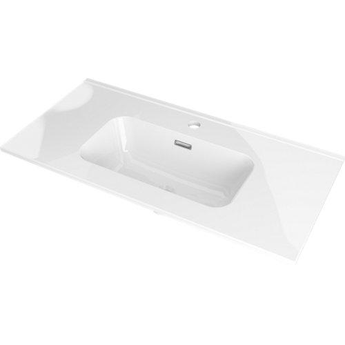 Lavabo mia reducida blanco 61x15x39.5 cm