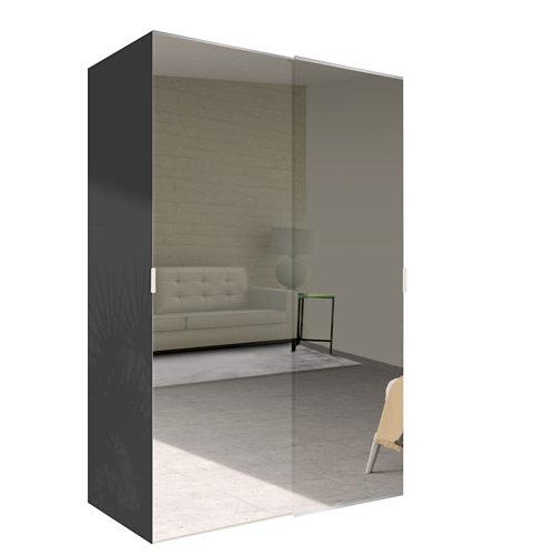 Amario spaceo home doha espejo corredera interior gris 240x160cm