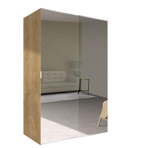 Amario spaceo home doha espejo corredera interior roble 240x160cm