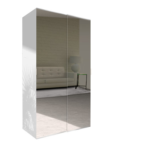 Amario spaceo home doha espejo corredera interior blanco 240x120cm
