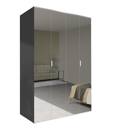 Amario spaceo home doha espejo abatible interior gris 240x160cm