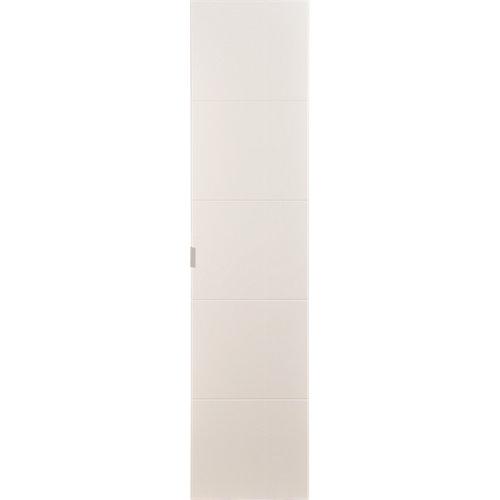 Armario spaceo home lucerna blanco abatible interior gris 240x160x60cm