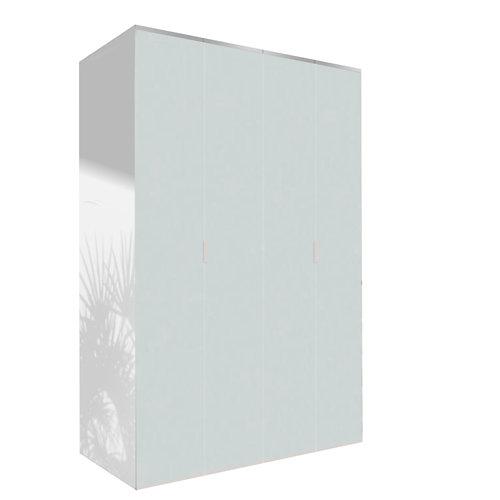 Amario spaceo home doha cristal abatible interior blanco 240x160cm