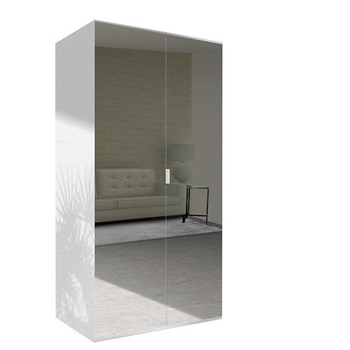 Amario spaceo home doha espejo abatible interior blanco 240x120cm