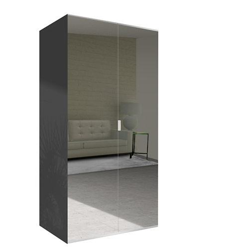 Amario spaceo home doha espejo abatible interior gris 240x120cm
