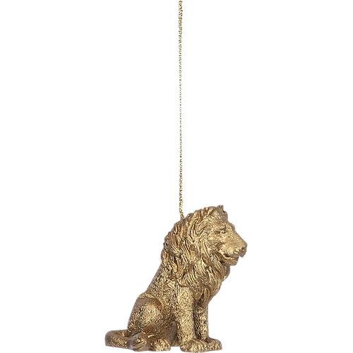 Adorno colgante león 6 cm
