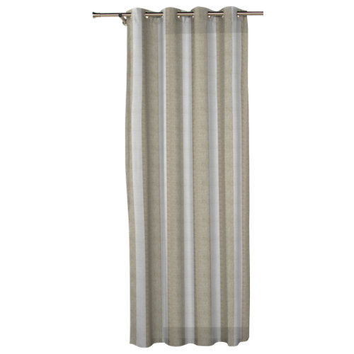 Visillo con ollaos combe lino de 270 x 140 cm