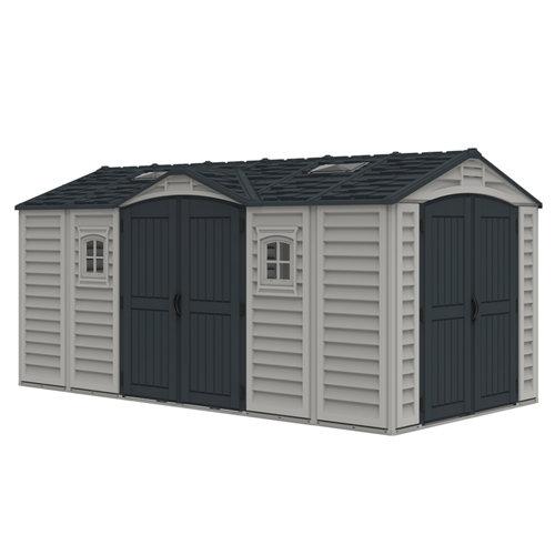 Caseta de resina apex pro plus de 484.2x234.4x247.4 cm y 11.98 m2