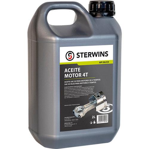Aceite de motor sterwins para motor 4 tiempos 2 litros