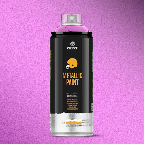 Spray pintura montana pro metalizado violeta r-4011 400ml