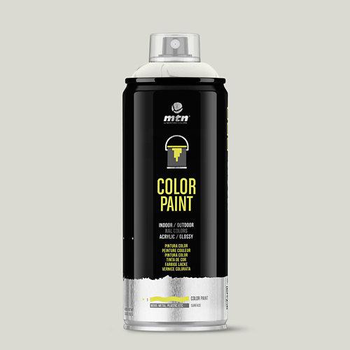 Spray pintura montana pro ral-1013 blanco perla 400ml