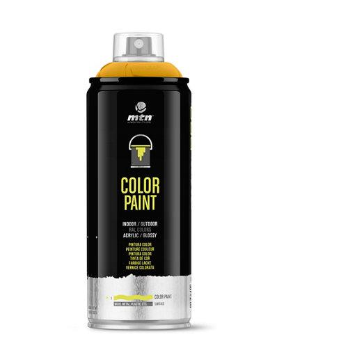 Spray pintura montana pro ral-1021 amarillo colza 400ml