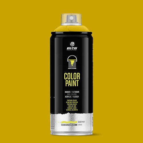 Spray pintura montana pro ral-1023 amarillo tráfico 400ml