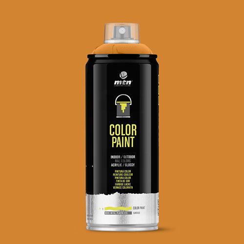Spray pintura montana pro ral-2003 naranja pálido 400ml