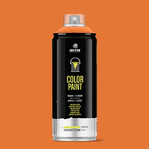 Spray pintura montana pro ral-2004 naranja puro 400ml